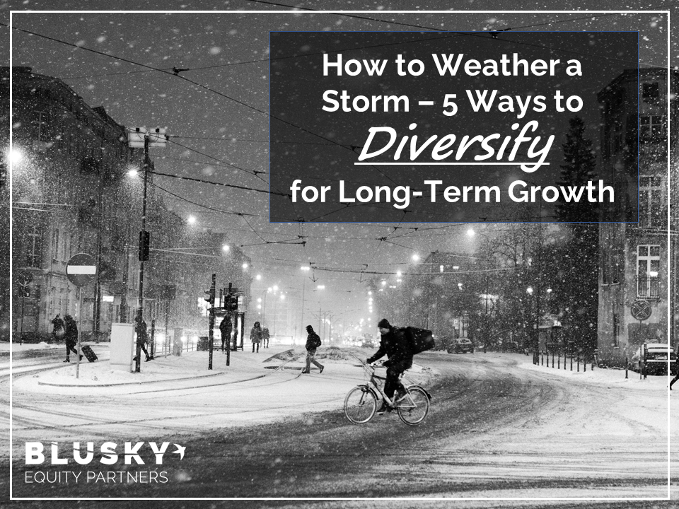 How to Weather a Storm — 5 Ways to Diversify for Long-Term Growth